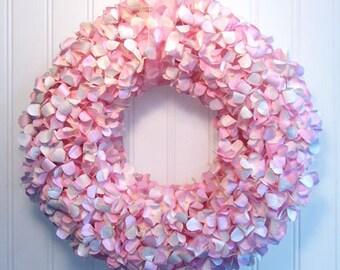 Hydrangea Wreath (pink)