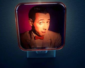 Pee Wee Herman Night Light, Pee Wees Playhouse, 80s, 80s decor, 80s birthday, 80s party, Pee wee herman, Retro decor, 80s kid, Chairry