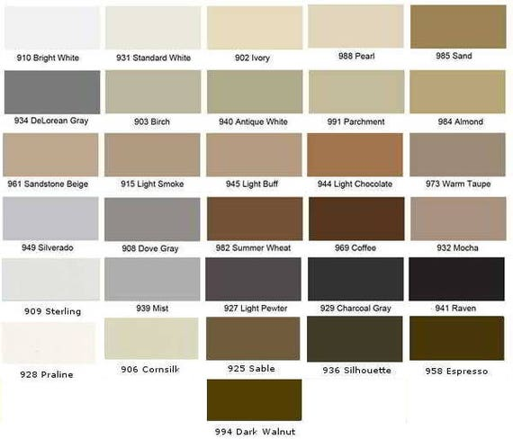 Color Fast Caulk To Match Tec Colors Sanded Rough