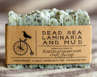 Dead Sea Mud Soap,scrub soap gift for her gift for women vegan soap exfoliating Soap needs mom exfoliating scrub face scrub body scrub