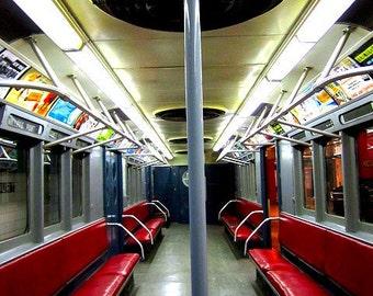 Subway Series 4 - New York City   16 x 20 Photo Print  -Affordable Home Decor- Fine Art Photography- Fall Decor