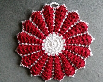 CROCHET PATTERN: Granny's Pot Holder