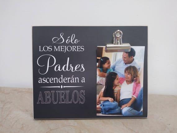 Marco de la Foto {Solo Los Mejores Padres Ascenderan a Abuelos ...