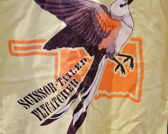 Scissor-Tailed Flycatcher (Tyrannus forficatus) T-Shirt - On Clearance!