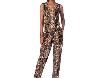 OUT of PRINT McCall's Pattern M7203 Misses' Romper and Jumpsuits