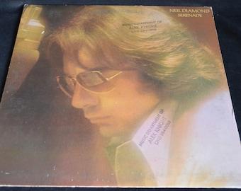 Vintage Vinyl Record Neil Diamond: Serenade Album PC-32919