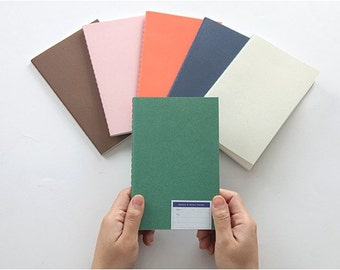 Small Monthly and weekly planner in 6 colors