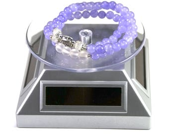 Display tray for jewelry, white