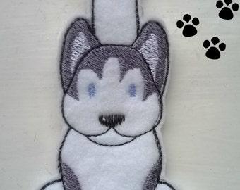 Husky Keyring, Husky Keychain, Husky Bag Charm, Husky Key Chain, Siberian Husky Key Ring, Dog Key Ring, Dog Key Fob, Dog Bag Charm