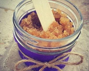 Essential oil sugar scrub