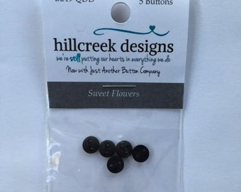 Sweet Flowers Button Pack from Hillcreek Designs B249-QDD