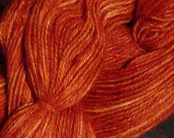 Hand Dyed Alpaka-Garn in mystische Ahorn - Finger Wt - 250 yds