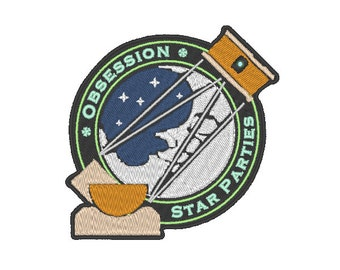 Custom Astronomy Club Patches