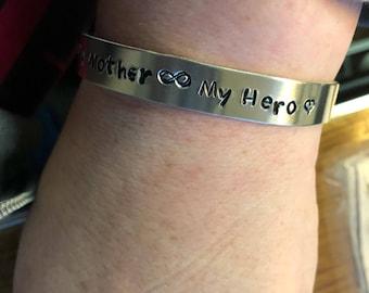 Mother's Day cuff bracelet