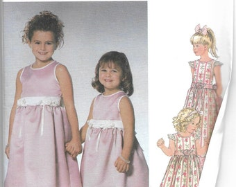 Simplicity | 5701 | Toddler' and Child's Dress in Two Lengths | Uncut and Factory Folded