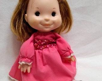 Spring SALE 30% OFF Vintage 1975 Fisher Price Lap Sitter Natalie Doll #202