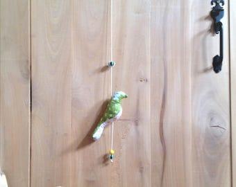 Bird mobile, small model, spring