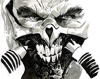 Mad Max: Fury Road - Immortan Joe original ink drawing