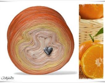 Gradient Yarn Merino Orange Juice 1'000m