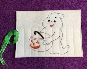 Candy ghost crayon buddy 4x4 and 5x7