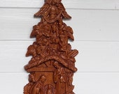 Wood Nativity Wall Hangin...