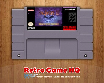 SNES - Final Fantasy III 3: Brave New World