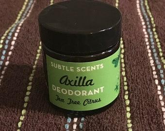 Axilla Deodorant Tea Tree Citrus