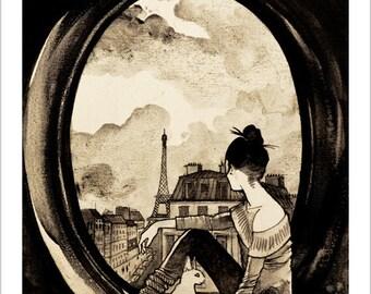Parisian & cat