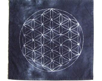 Crystal Grid Cloth · Flower of Life · Grid Cloth · Sacred Geometry
