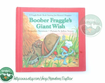 1980s Fraggle Rock Book: Boober Fraggle's Giant Wish