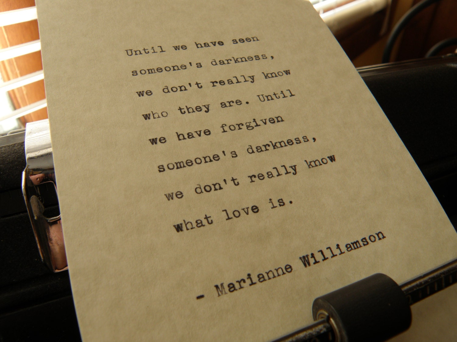 Marianne Williamson Love Quotes Marianne Williamson Quote Until We Have Seen