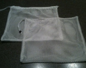 Large reusable mesh produce bags, shopping bags, sustainable