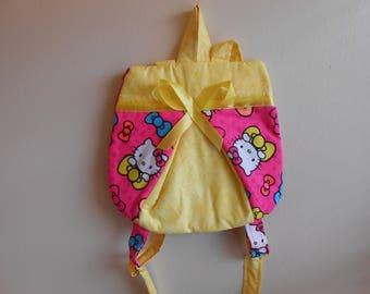 Small Hello Kitty ladybug backpack