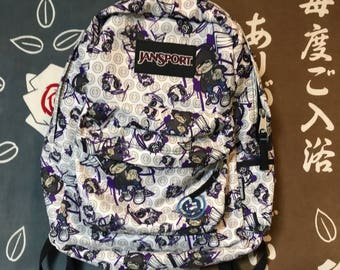 Rare JanSport artist series backpack TRACY TUBERA