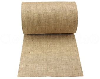 "50 Yards - 12"" Natural Burlap Roll - Construction Grade - CLOSEOUT - Eco-Friendly Natural Jute Burlap Fabric - 12 Inch"
