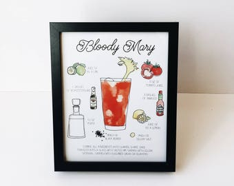 Bloody Mary - 8x10 Print