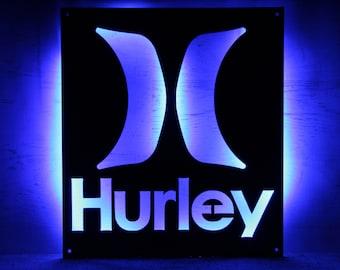 Hurley Lifestyle Metal Sign