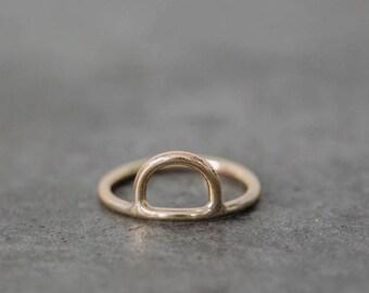 Single Hoop Small Ring