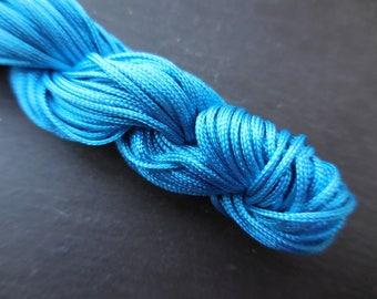 Blue nylon string 1: packs of 5 m
