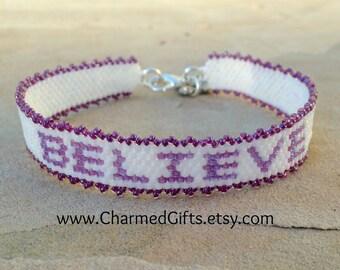 Believe - Bracelet with Fairy Charm