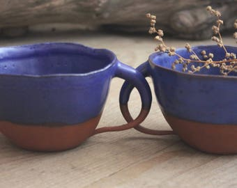Blue Cup pottery Ceramics