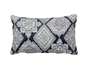 Decorative Throw Pillow Cover Decorative Pillow Shams Navy Blue Pillow Covers Lumbar Pillows 12x20 Pillow 12x24 Pillow 12x16 Navy Pillow