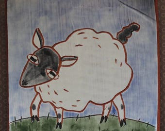Sheep Tile~948