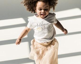 New! Black Girl Magic Kids Tshirt - Melanin Magic - Free Shipping