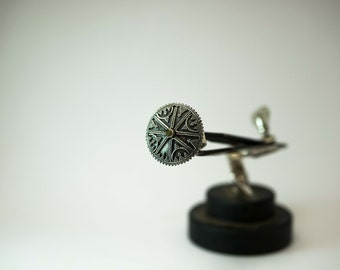Sterling Silver Ring 92;5 Tribal Tzigane Gypsy Ethnic