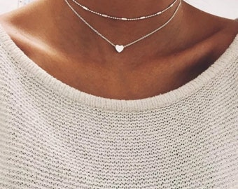 Heart in the Sky Necklace