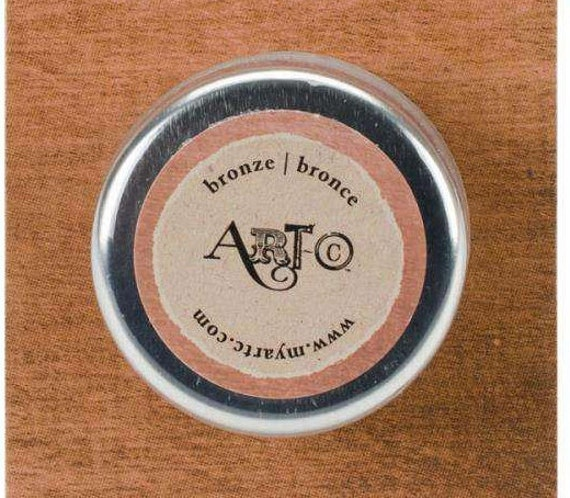 Wax Paste Bronze Metallic 20ml  Art-C ,beeswax based Metal gloss, professional quality and highly pigmented wax paste