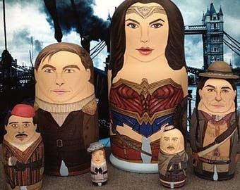 Wonder Woman Matryoshka Dolls