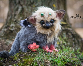 CUSTOM ORDER!Poseable The Last Guardian Baby Trico