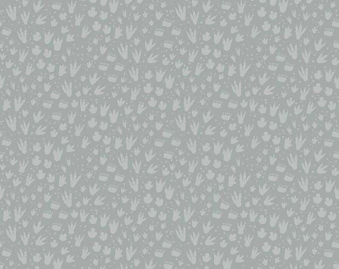 Fossil Rim by Riley Blake - Footprint Gray - Cotton Woven Fabric